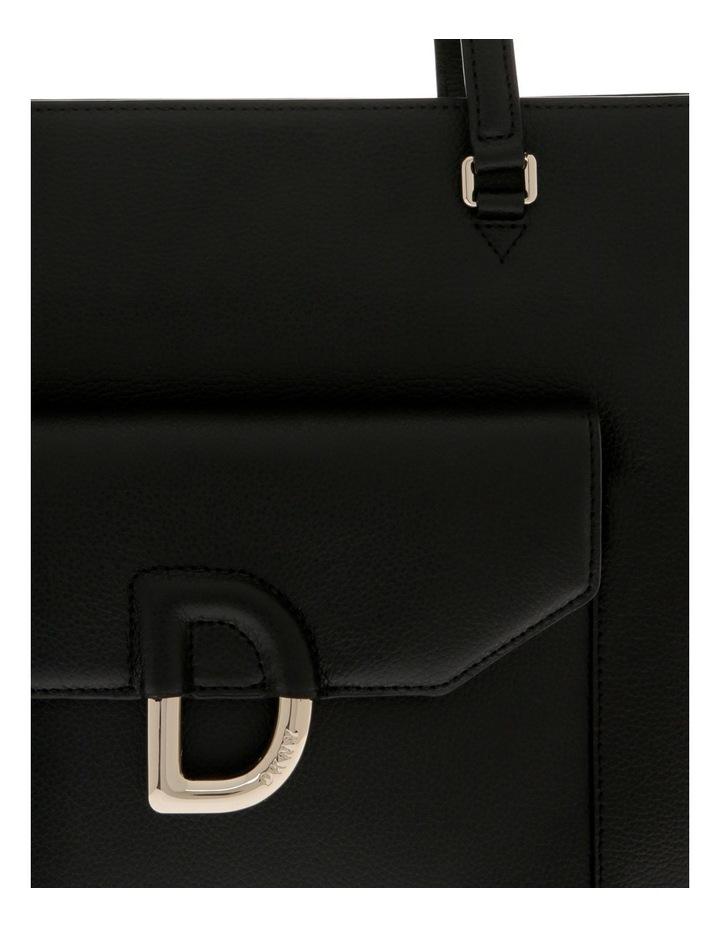 Von Black Double-Handle Tote Bag image 3