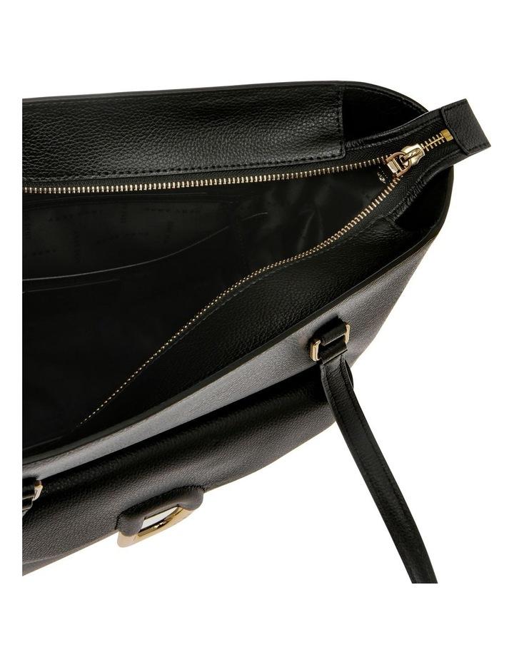Von Black Double-Handle Tote Bag image 4