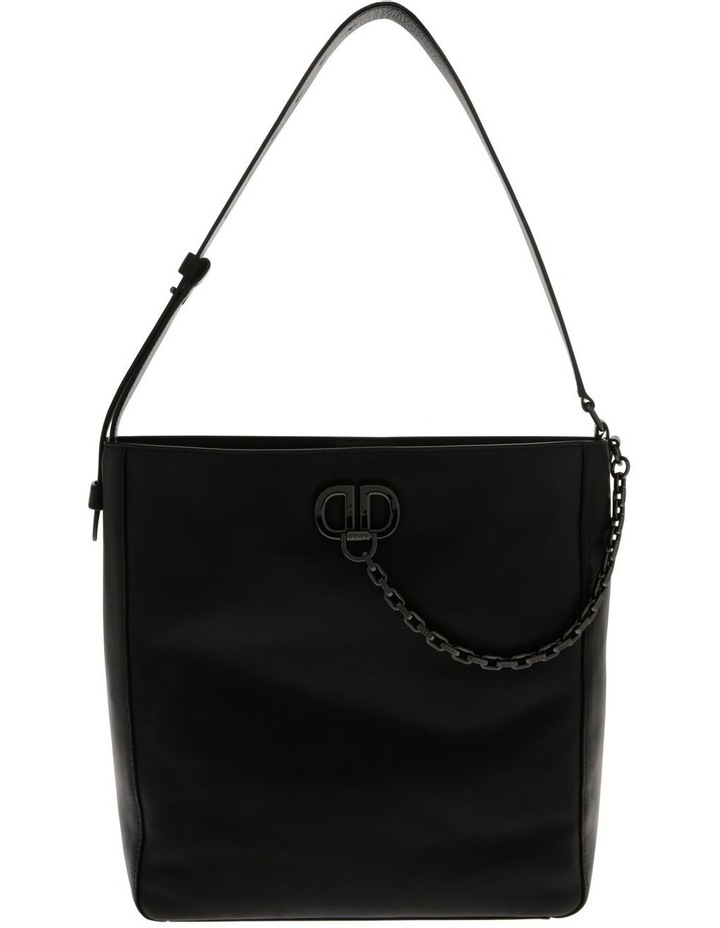 Linton Black Top-Handle Hobo Bag image 1