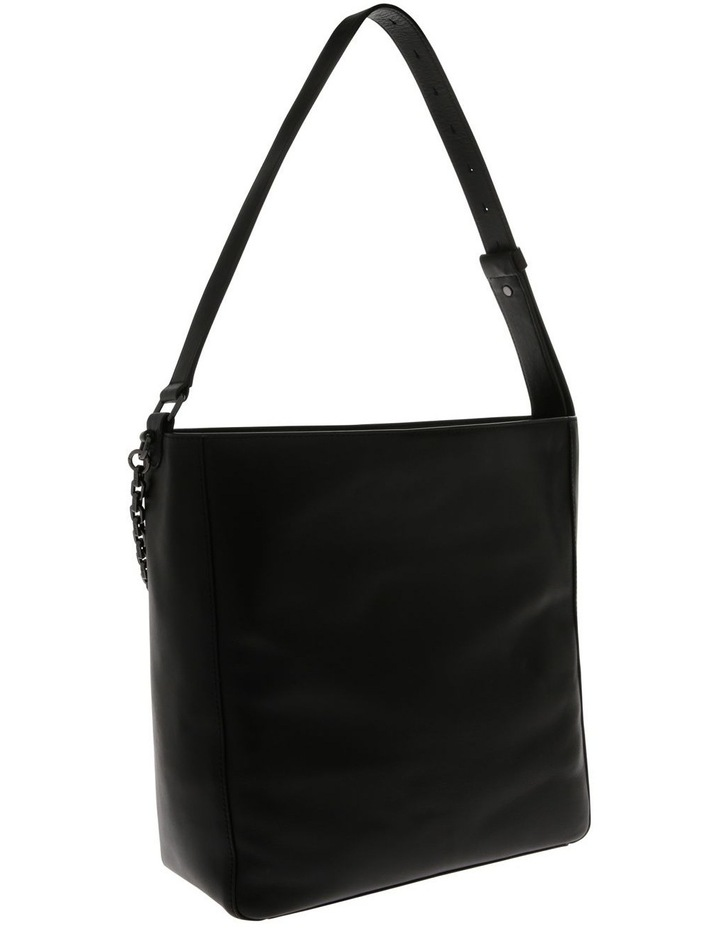 Linton Black Top-Handle Hobo Bag image 2