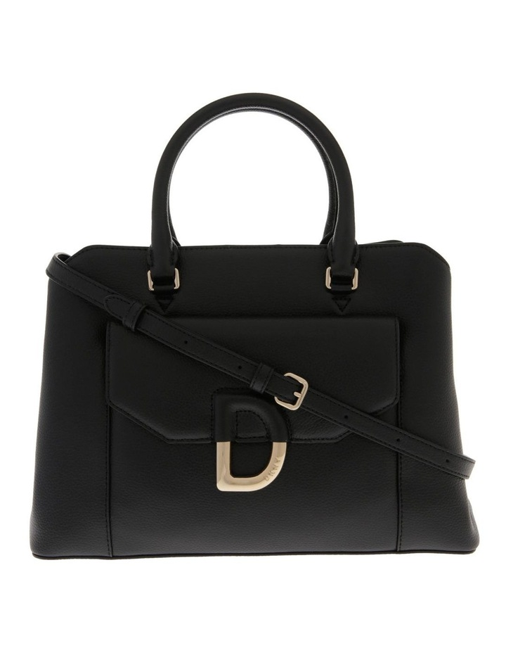 Von Black Double-Handle Satchel image 1
