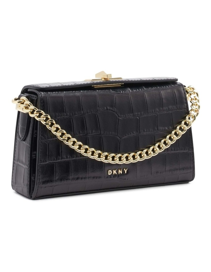R12GQO35BGD Joanna Black/Gold Top Handle Crossbody Bag image 2
