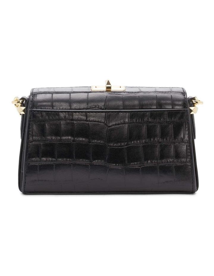 R12GQO35BGD Joanna Black/Gold Top Handle Crossbody Bag image 3