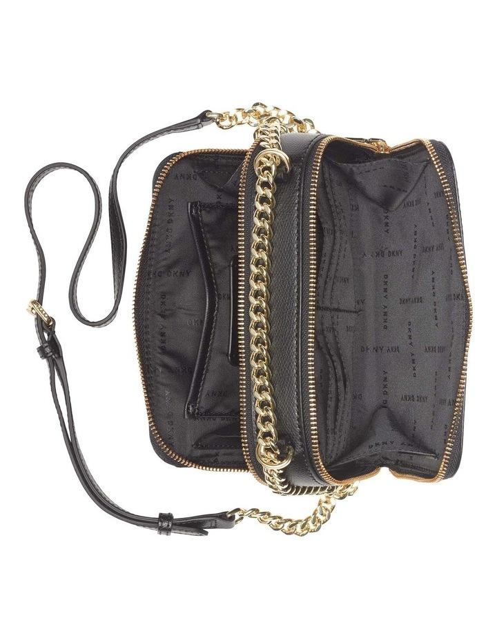 Felicia Black Gold Camera Crossbody Bag image 4