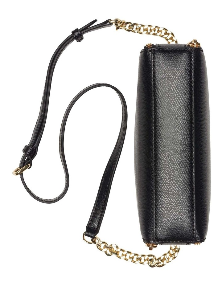 Felicia Black Gold Camera Crossbody Bag image 5