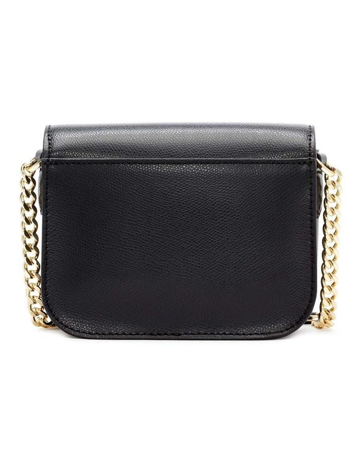 R12EHO16BGD Felicia Black/Gold Flapover Crossbody Bag image 2