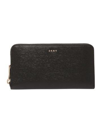Womens Black Artificial Leather Wallet Key Pouch Coin Case Mini Change Purse