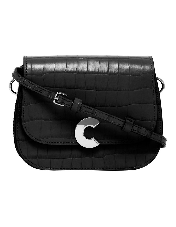 Craquante Croco Flap Over Crossbody Bag E1 DN7 55 01 01 image 1