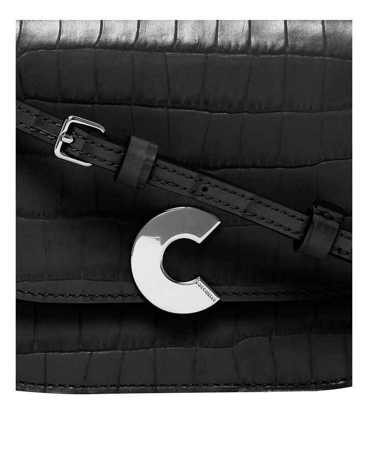 Craquante Croco Flap Over Crossbody Bag E1 DN7 55 01 01 image 3