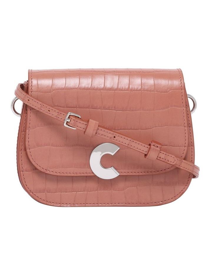 Craquante Croco Flap Over Crossbody Bag E1 DN7 55 01 01 image 1