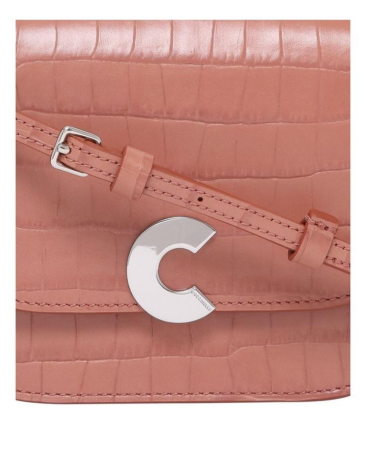 Craquante Croco Flap Over Crossbody Bag E1 DN7 55 01 01 image 3
