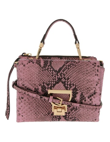 6e08c250f9b Limited stock. CoccinelleArlettis Python Flap Over Crossbody Bag ...