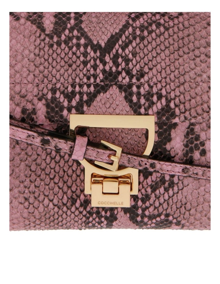 Arlettis Python Flap Over Crossbody Bag E1 D55 55 B7 01 image 3