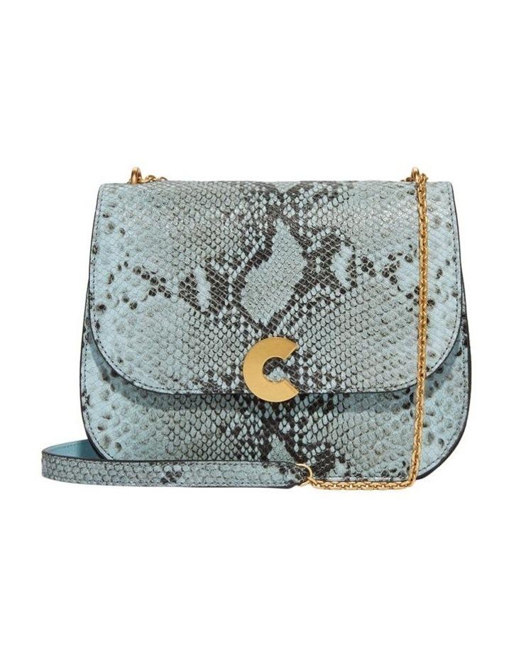 Craquante Python Flap Over Crossbody Bag E1 DK3 12 05 01 image 1