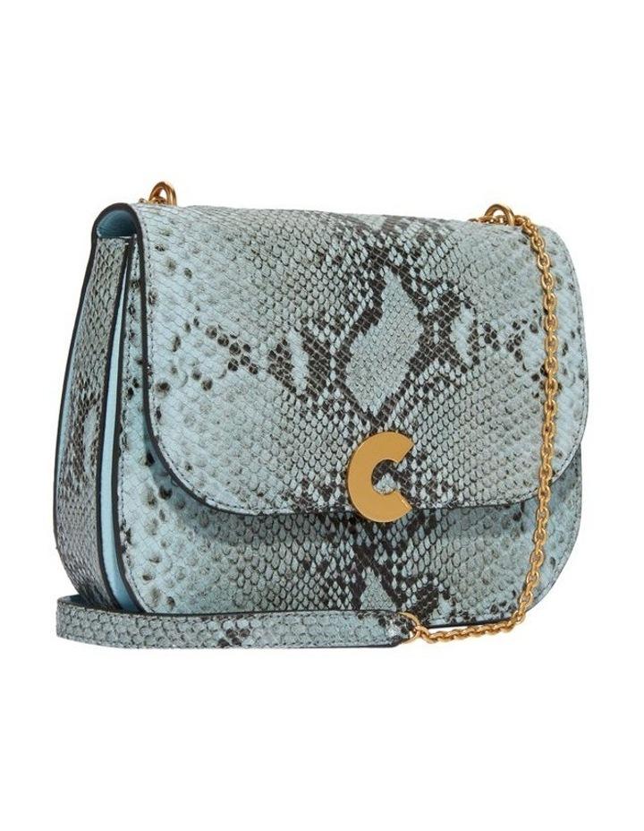 Craquante Python Flap Over Crossbody Bag E1 DK3 12 05 01 image 3