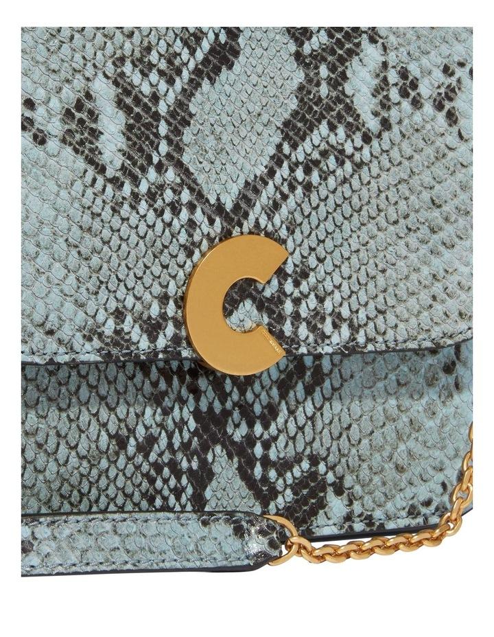 Craquante Python Flap Over Crossbody Bag E1 DK3 12 05 01 image 5