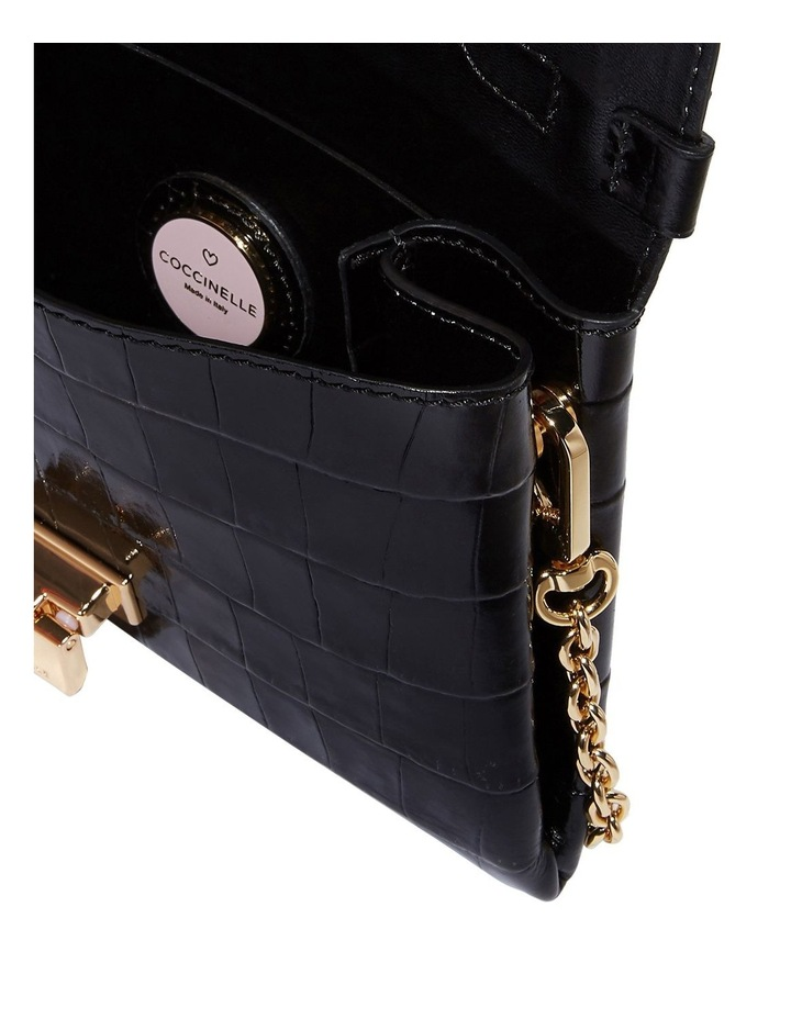 Arlettis Mignon Croco Flap Over Crossbody Bag image 3