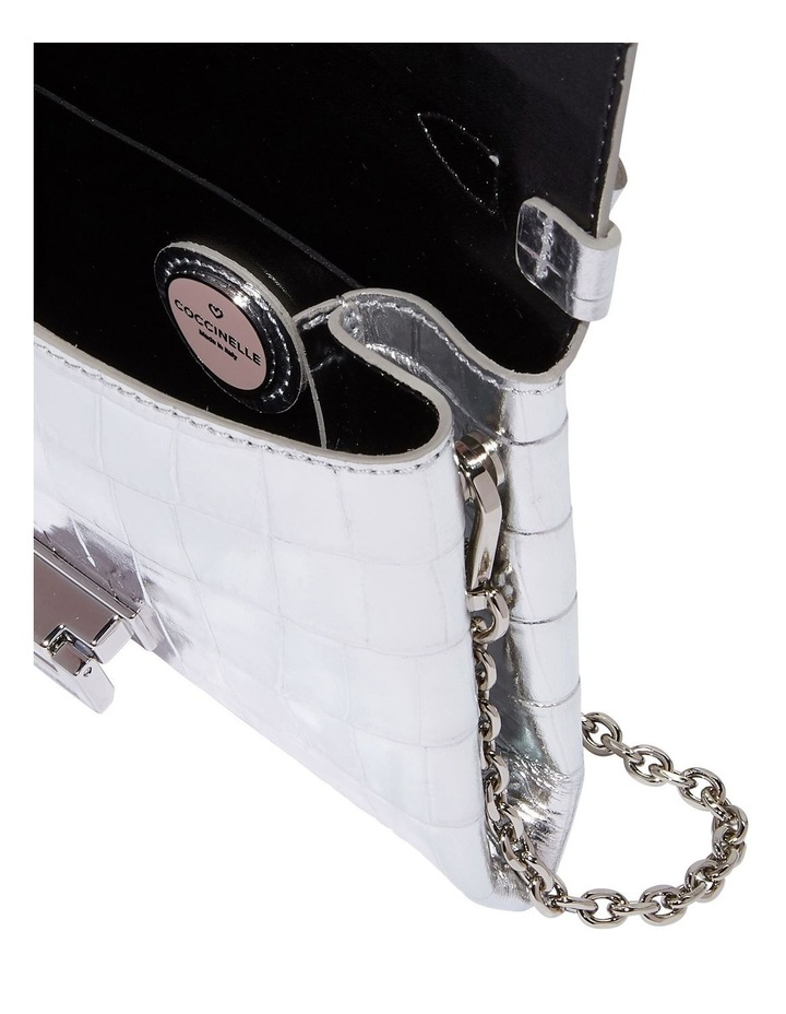 Arlettis Mignon Croco Flap Over Crossbody Bag image 3