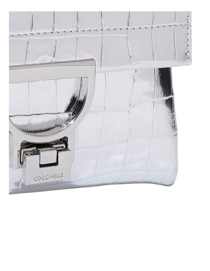 Arlettis Mignon Croco Flap Over Crossbody Bag image 4