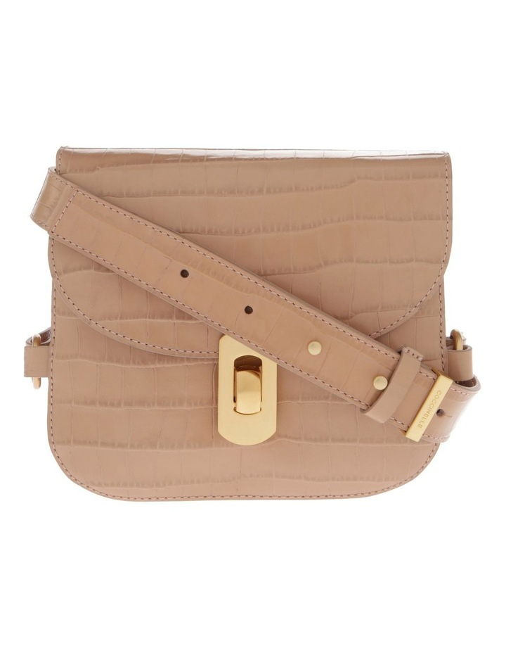 Zaniah Croco Flap Over Crossbody Bag image 1
