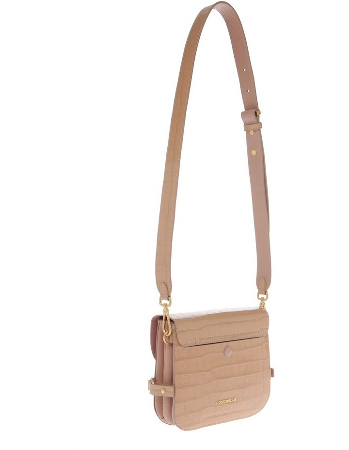 Zaniah Croco Flap Over Crossbody Bag image 2