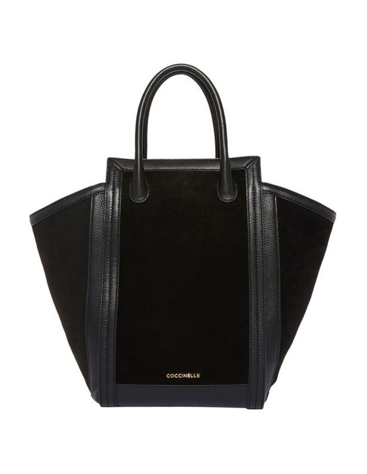 Madelaine Suede Double Handle Tote Bag image 1