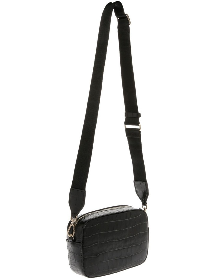 Tebe Croco Zip Around Crossbody Bag image 2