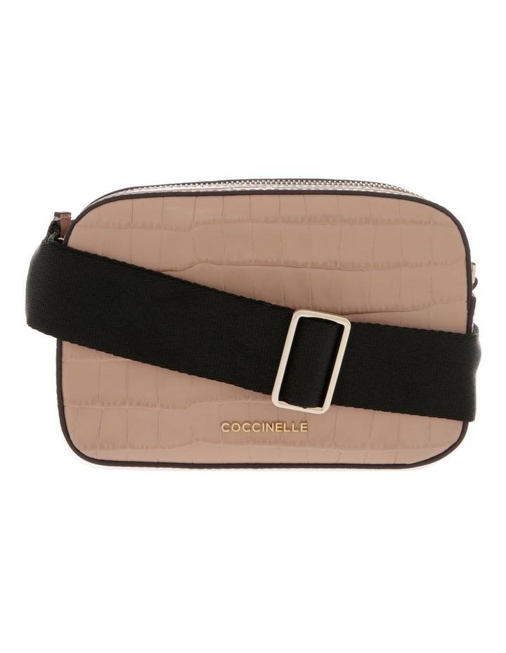 Tebe Croco Zip Around Crossbody Bag image 1