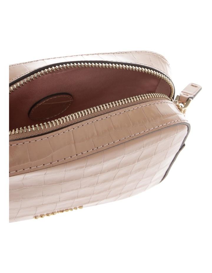 Tebe Croco Zip Around Crossbody Bag image 4