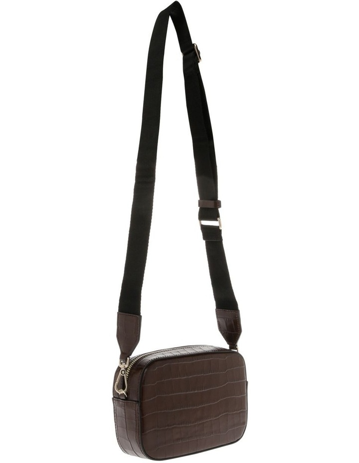 Tebe Croco Zip Around Crossbody Bag image 2
