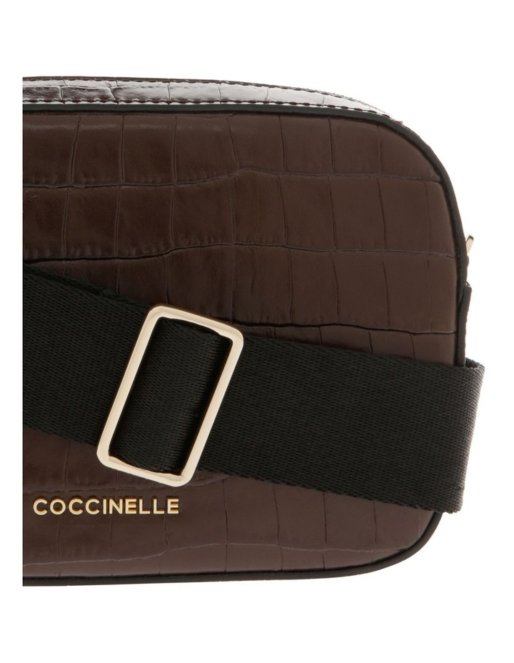 Tebe Croco Zip Around Crossbody Bag image 3