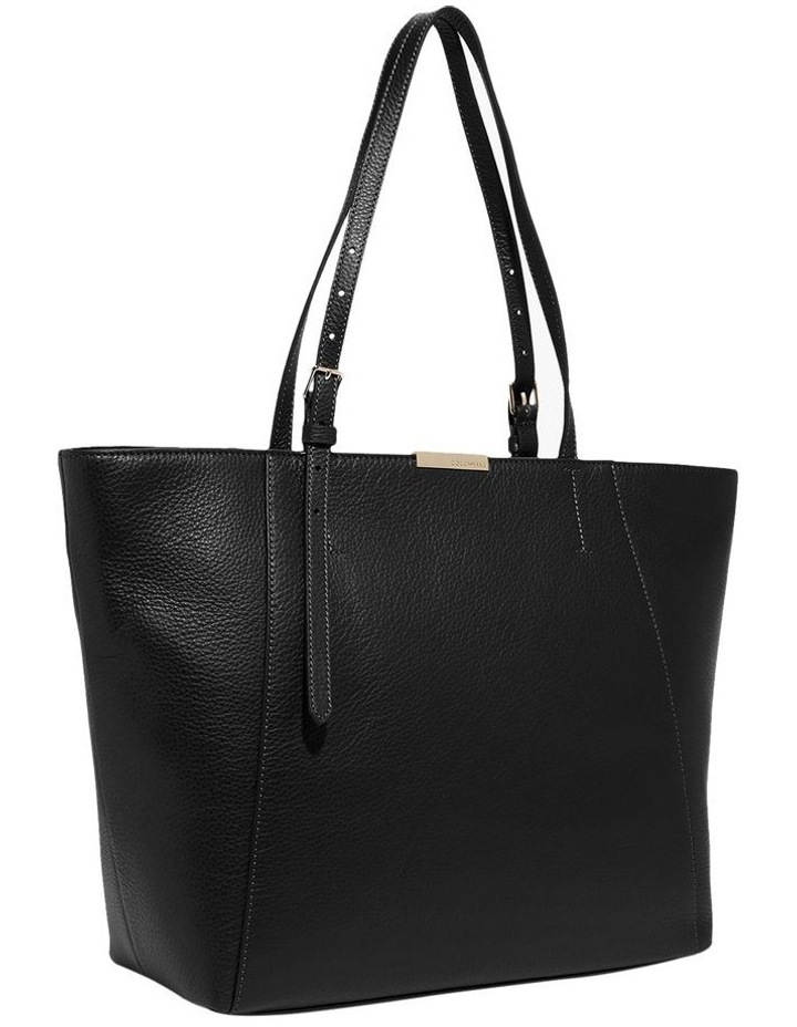 Cher Double Handle Black Tote Bag image 2