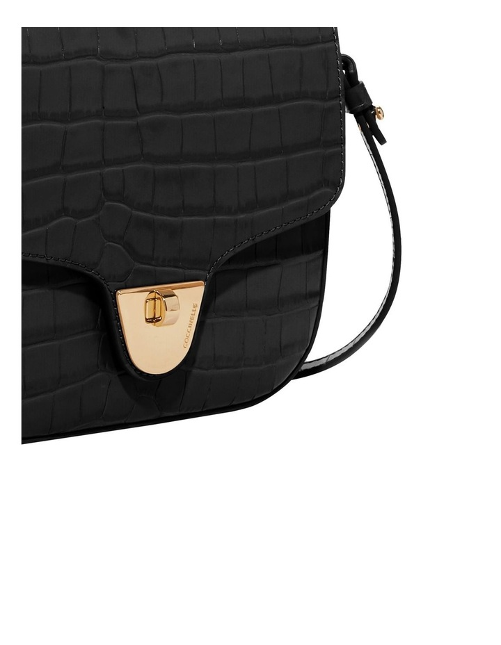 Florence Croco Flap Over Crossbody Bag image 4