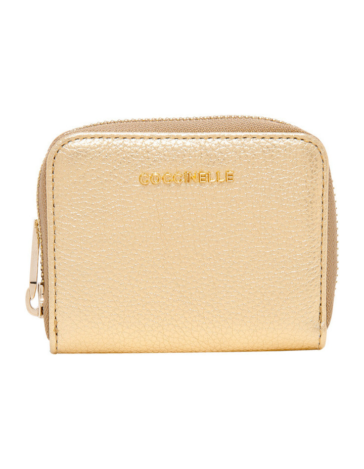 E2 CW5 19 25 01 Metallic Soft Zip Around Wallet image 1