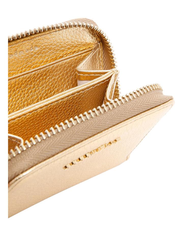 E2 CW5 19 25 01 Metallic Soft Zip Around Wallet image 3