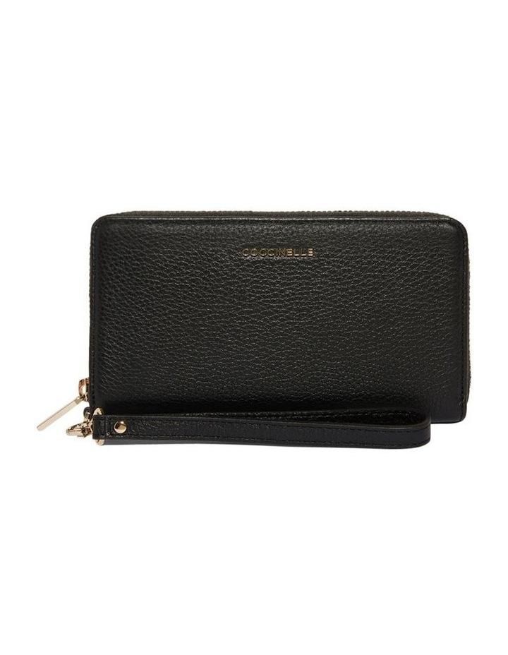 Metallic Soft Zip Around Wallet E2 DW5 11 05 01 image 1