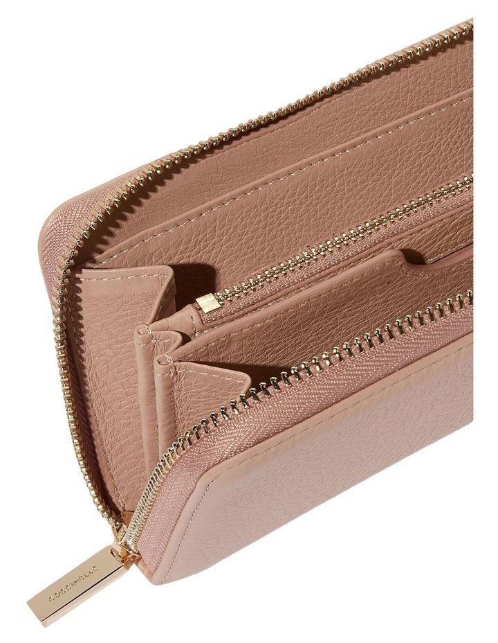 Metallic Soft Zip Around Wallet E2 DW5 11 05 01 image 3