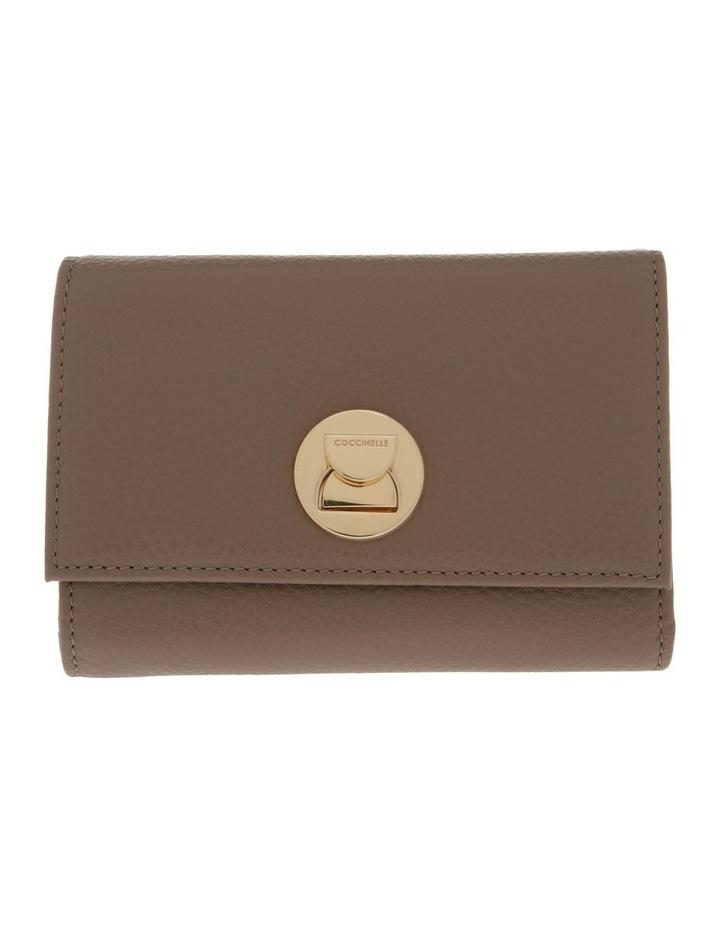 Liya Tri-Fold Taupe Wallet image 1