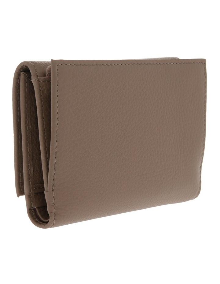 Liya Tri-Fold Taupe Wallet image 2