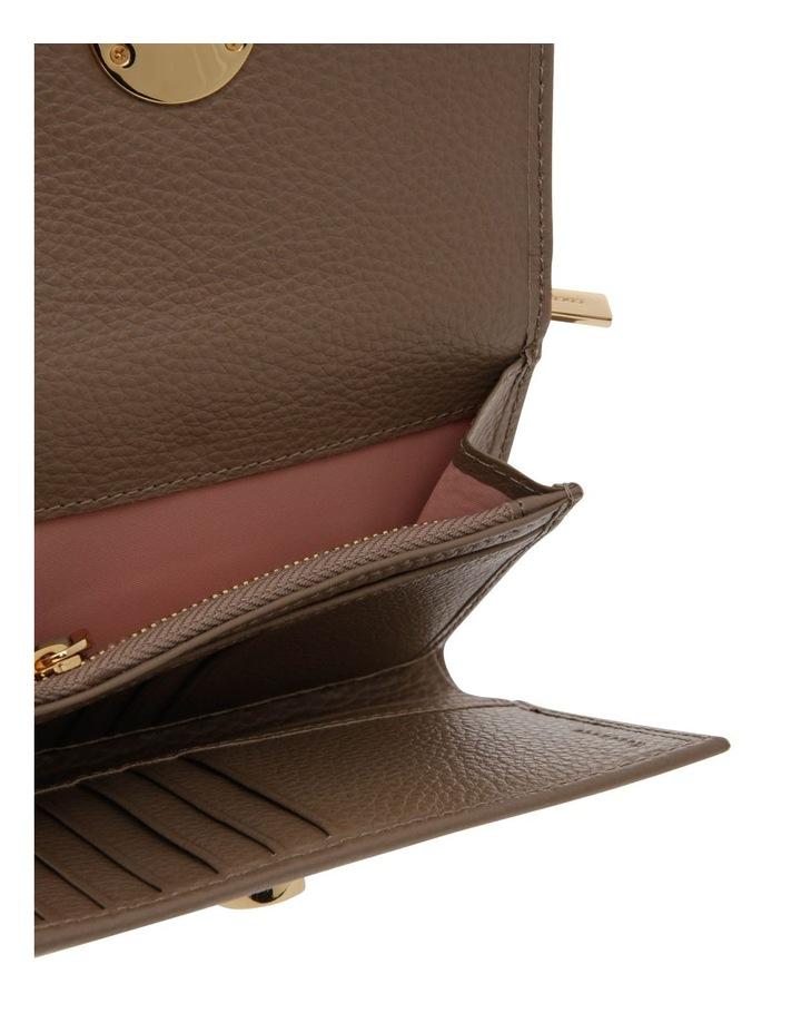 Liya Tri-Fold Taupe Wallet image 3