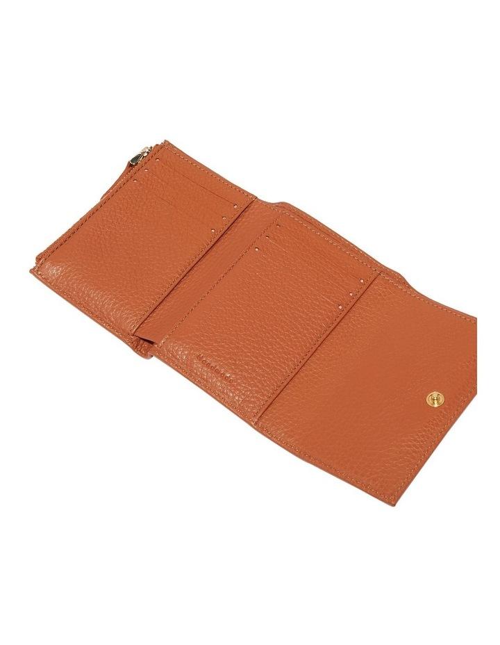 Metallic Soft Tri-Fold Wallet image 2