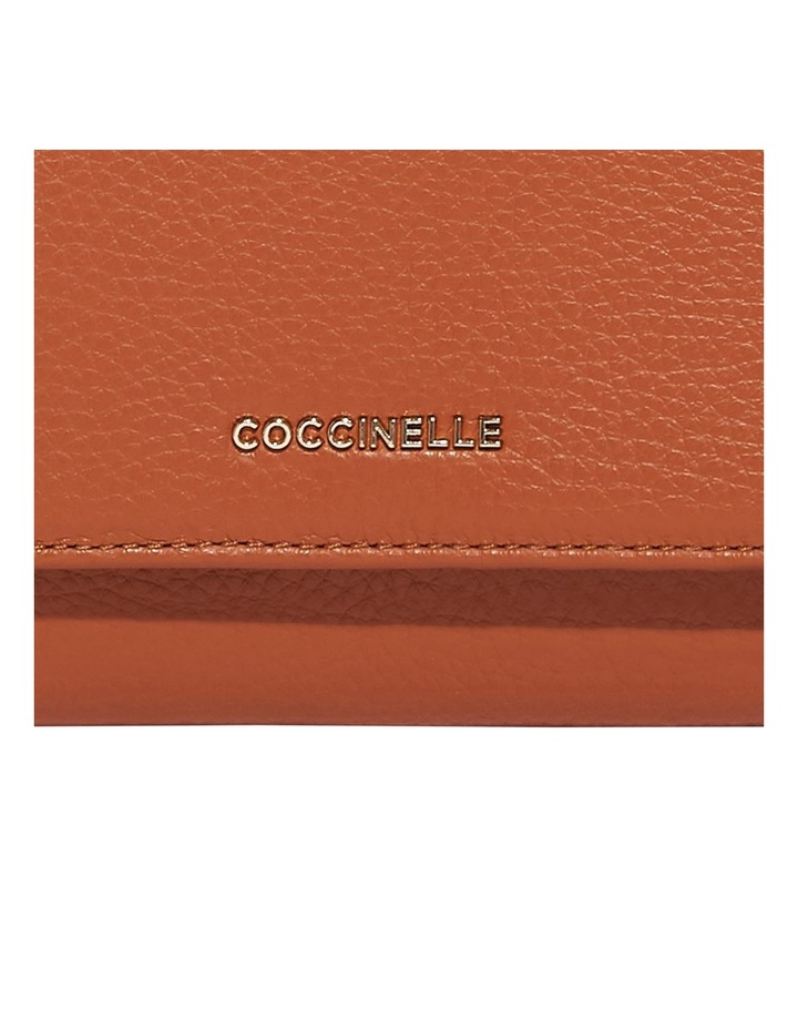 Metallic Soft Tri-Fold Wallet image 3