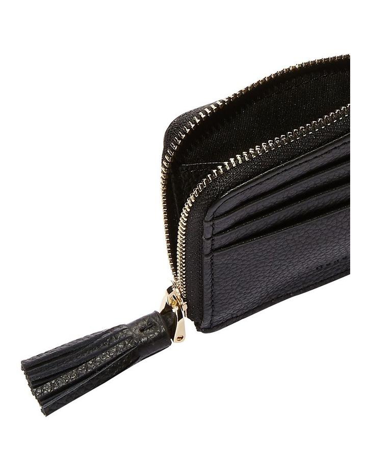Metallic Soft Zip Around Wallet image 2