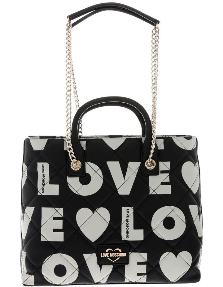 Logo Love Double Handle Tote Bag image 1