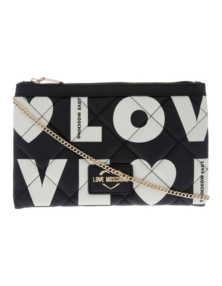 Logo Love Flap Over Crossbody Bag image 1
