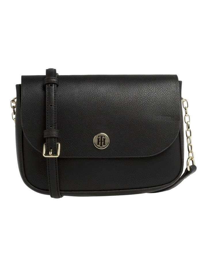 Reversible Metallic Flap Crossover Bag image 1