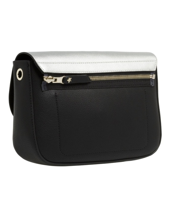 Reversible Metallic Flap Crossover Bag image 4