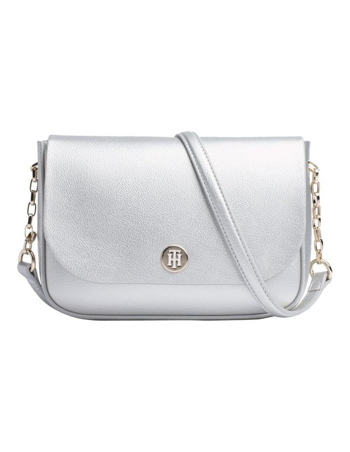 Reversible Metallic Flap Crossover Bag image 1