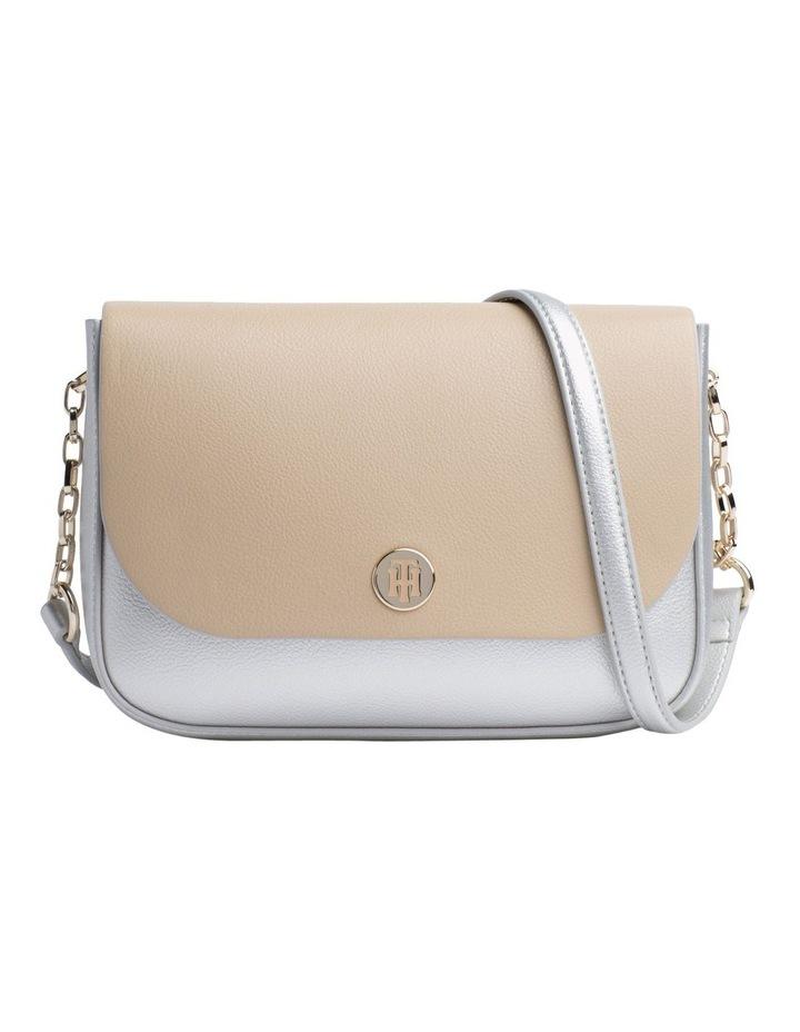 Reversible Metallic Flap Crossover Bag image 2