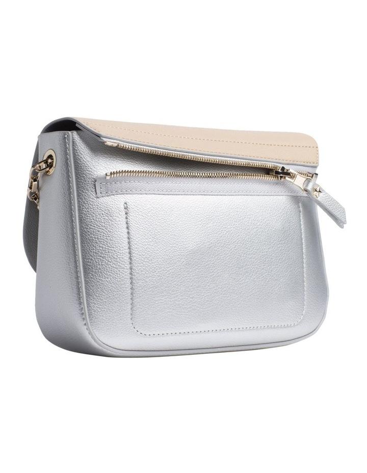 Reversible Metallic Flap Crossover Bag image 3